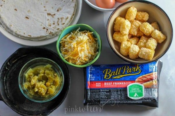 Camping Breakfast Ideas - Easy Grilled Breakfast Burrito Recipe