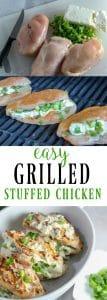 Easy Smokey Cream Cheese and Onion Stuffed Chicken Recipe