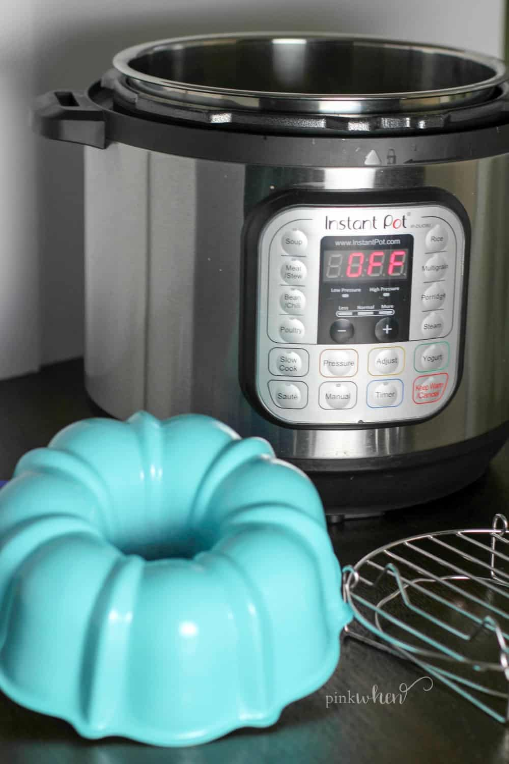 Instant Pot and cake pan