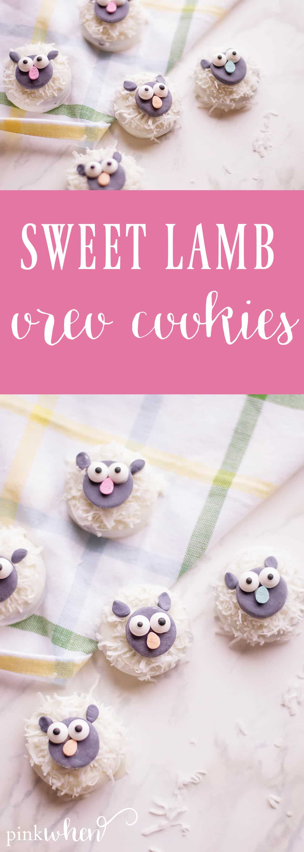 This is a newly loved easy no bake dessert recipe - with a fun twist on OREO cookies that kids will love! These sweet lamb OREO cookies are so sweet, fun, and delicious! These easy no bake OREO cookies will be an absolute hit with the kids!