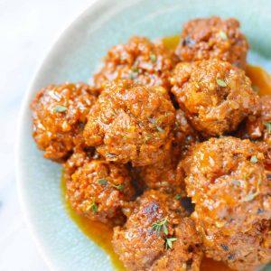 Instant Pot BBQ Meatballs