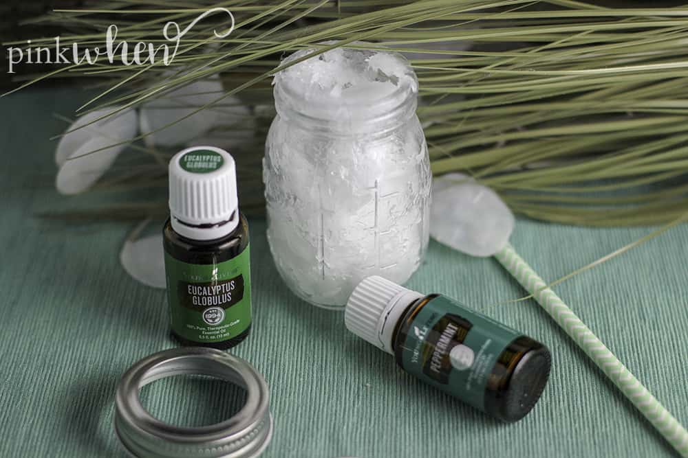 Easy 3 Ingredient Homemade Vicks Rub recipe for cold and flu season.