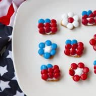 Patriotic Pretzel Bites Recipe
