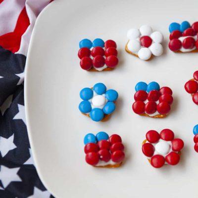 Patriotic Pretzel Bites Recipe