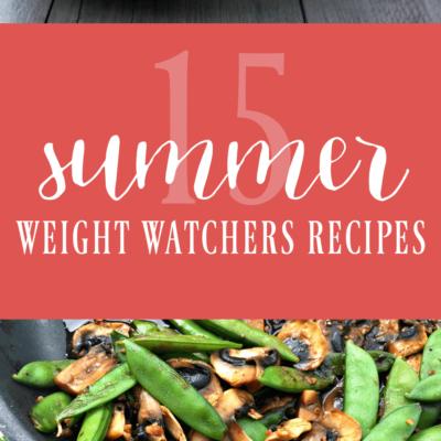 15 Summer Weight Watchers Recipes