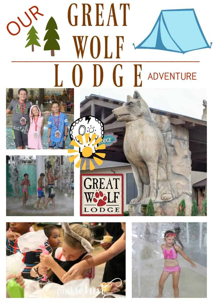 Sharing with you the family fun we had with Our Great Wolf Lodge Adventures