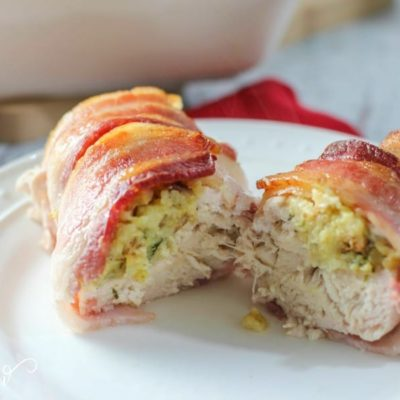 How to Make an Amazing Bacon Wrapped Stuffed Chicken Breast