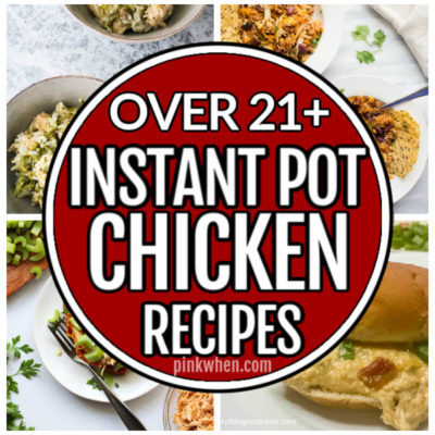 Instant Pot Recipes for Chicken