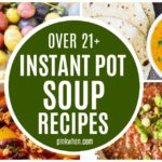 Soup Recipes Instant Pot Picture Collage