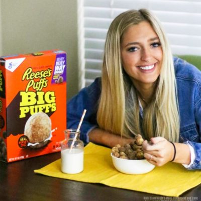 My Teen Loves REESE'S PUFFS Big Puffs