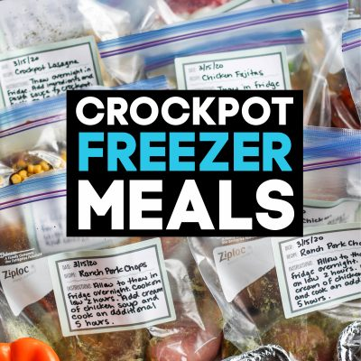 Crockpot Freezer Meals for Busy Families