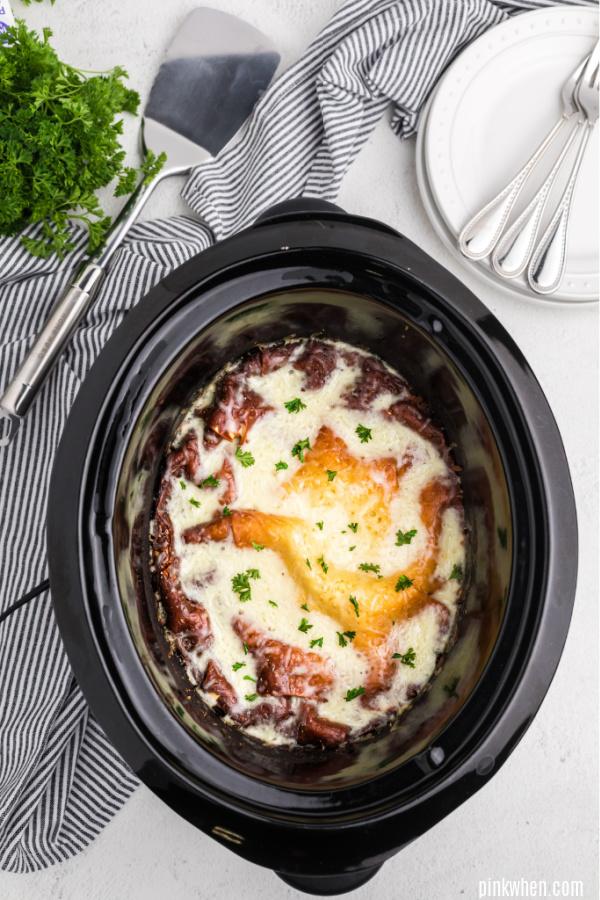 lasagna in a crockpot