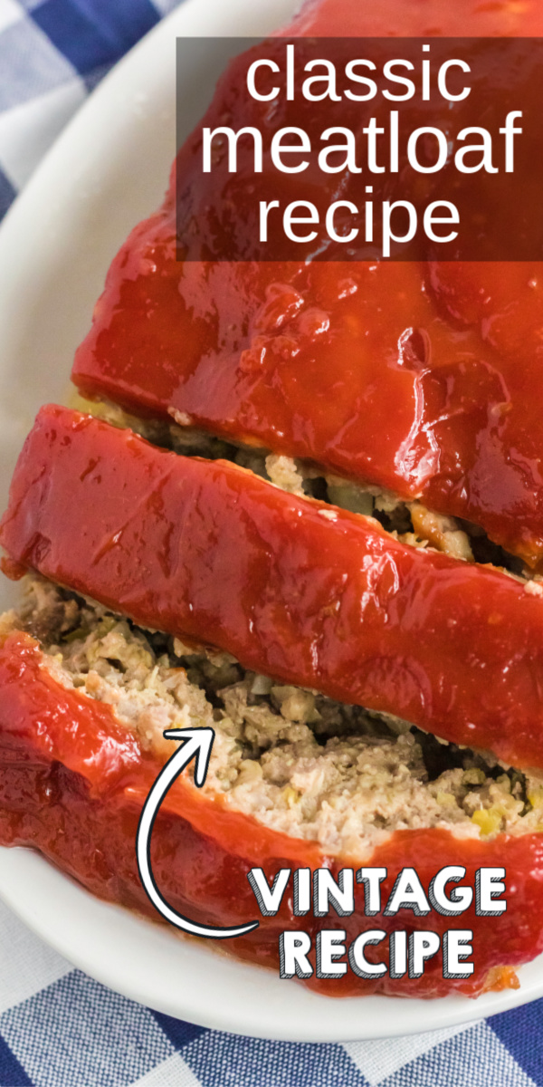 This is literally the best meatloaf recipe you're ever going to taste, and it's one our family has passed down for generations. It's made with ground beef, brown sugar, bell pepper, onion, crushed crackers, and more. It's our favorite thick and hearty meatloaf recipe and one that the entire family consumes in record time.