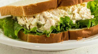 Chick Fil A Chicken Sandwich on a plate.