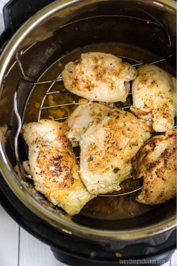 Chicken Thighs in the Instant Pot.