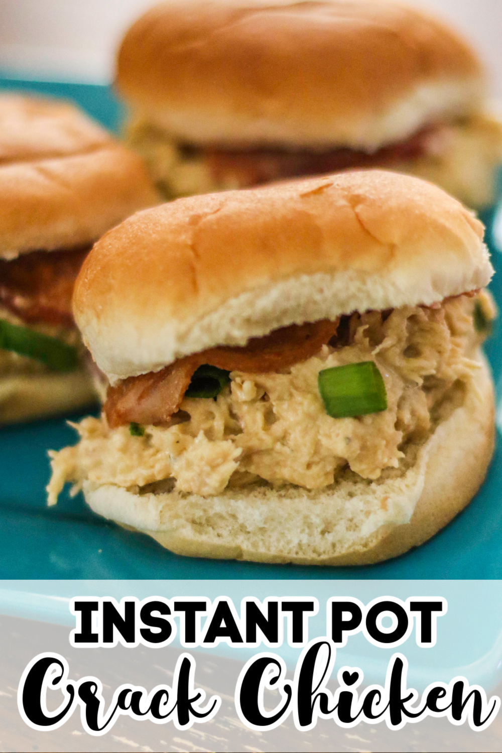 This low carb and Keto friendly Instant Pot Crack Chicken is loaded with chicken, cheese, bacon, and ranch. It's creamy, delicious, and easy to make in the Instant Pot.