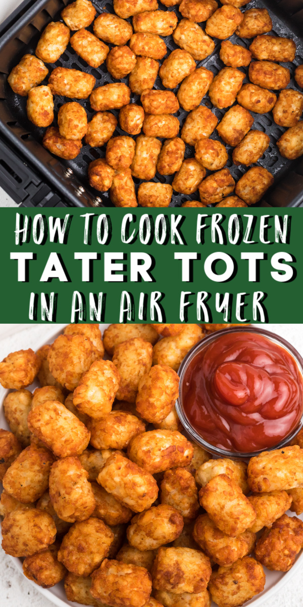 Quick and Easy!! Air Fryer Tater Tots have become my favorite little snack to make. Once you try them in the Air Fryer, you'll never want them any other way. There is no better way to make tater tots than making from frozen tater tots in the air fryer. They have that crispy deep-fried taste without the actual unhealthy frying.