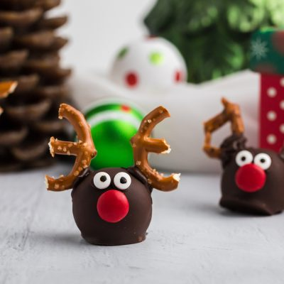 How to Make OREO Reindeer Truffles
