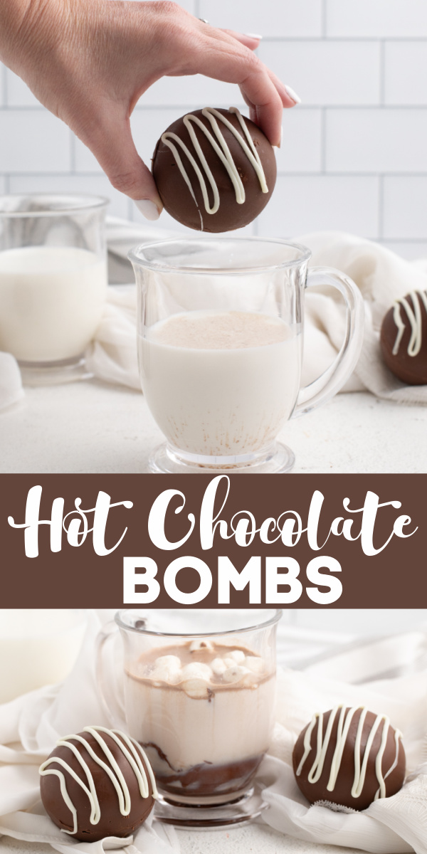 Hot Chocolate Bombs are delicious and easy to make. Made with chocolate chips, hot cocoa, and mini marshmallows. These delicious hot cocoa bombs also make the perfect gifts.
