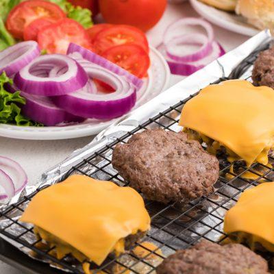 Easy Oven Baked Hamburgers
