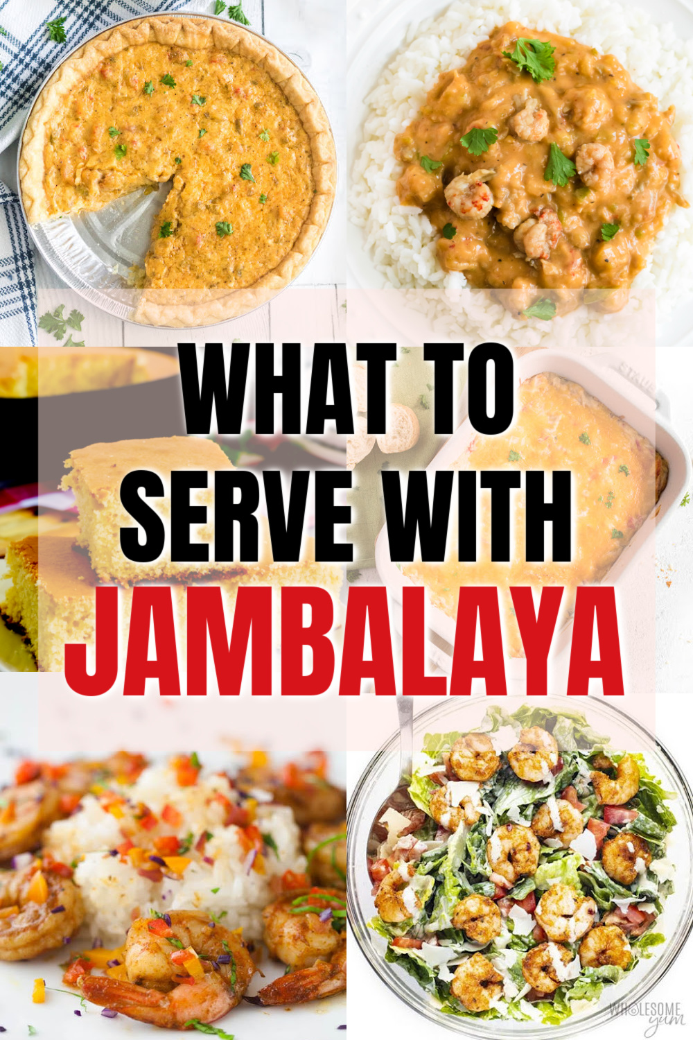 Have a love for Jambalaya and looking for pairings and sides to serve with it? Look no further! We are sharing 31 of the best recipes to serve with jambalaya.